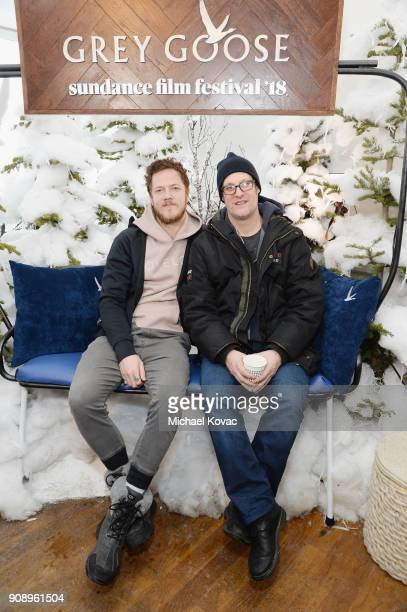 Dan Reynolds and director Don Argott attends as Grey Goose Blue Door hosts the casts of gamechanging films during the Sundance Film Festival at The...