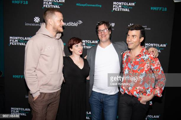 Dan Reynolds Don Argott Sheena M Joyce and Tyler Glenn attend the Montclair Film Festival on May 5 2018 in Montclair NJ