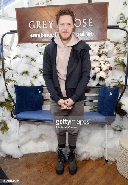 Dan Reynolds of Imagine Dragons attends as Grey Goose Blue Door hosts the casts of gamechanging films during the Sundance Film Festival at The Grey...