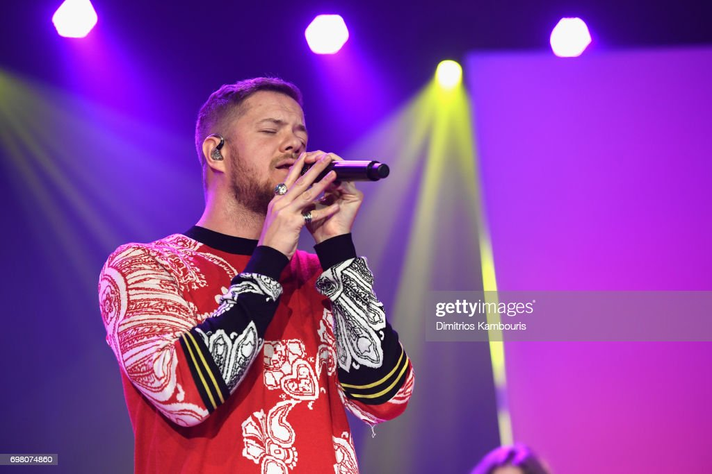 Dan Reynolds of Imagine Dragons performs onstage during The Trevor Project TrevorLIVE NYC 2017 at Marriott Marquis Times Square on June 19, 2017 in New York City.