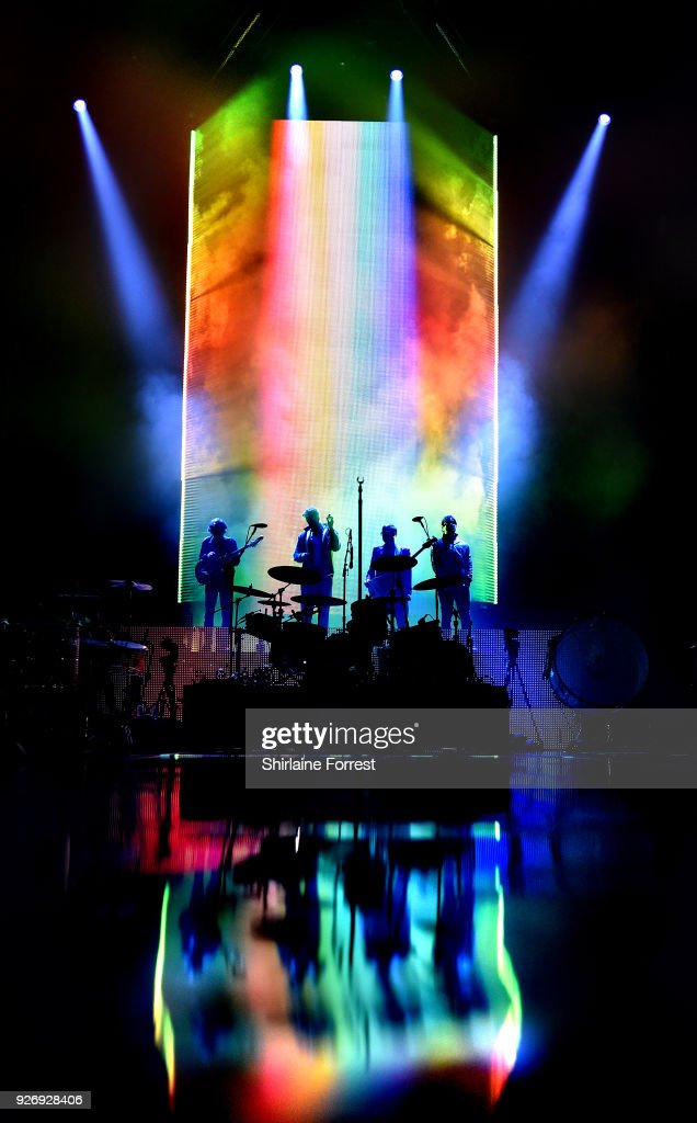 Imagine Dragons Perform at Manchester Arena