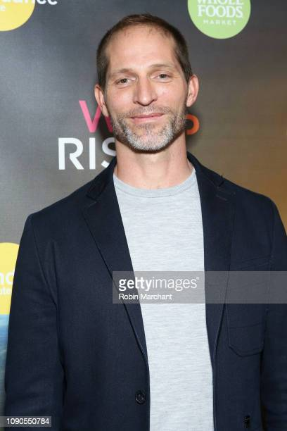 Dan Richardson attend the WeRiseUP Launch Event With Kevin Bacon during the 2019 Sundance Film Festival at TAO Nightclub on January 27 2019 in Park...