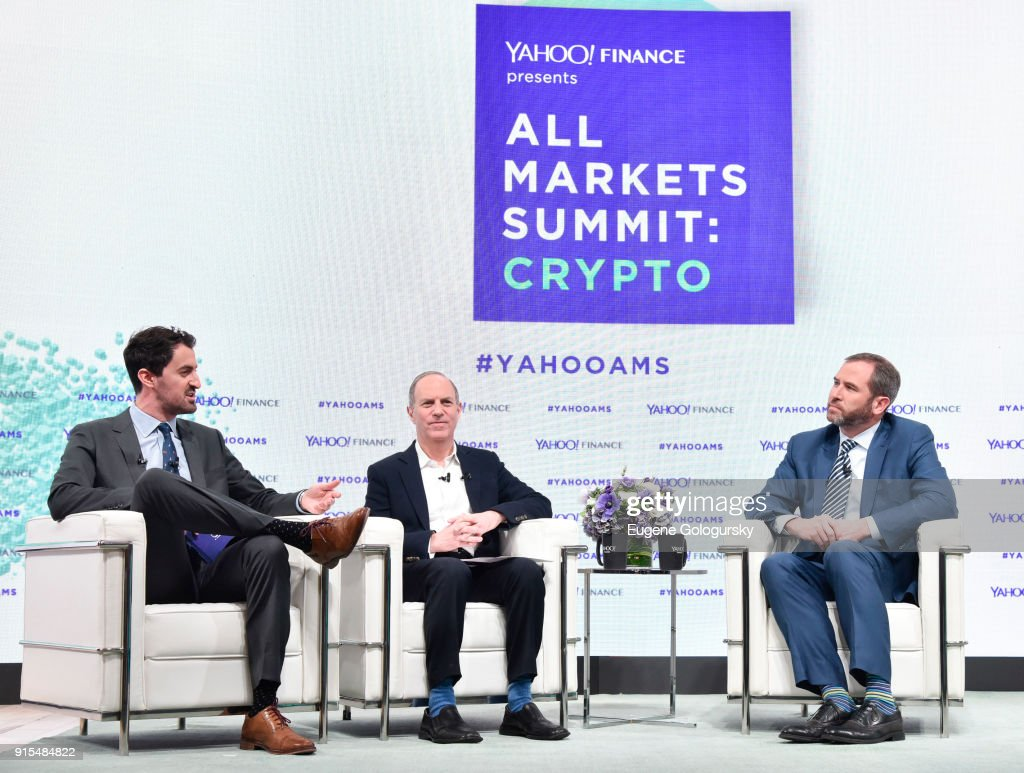 Yahoo Finance All Markets Summit: Crypto : News Photo