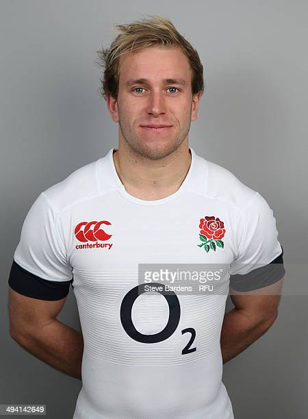 Dan Robson of England poses for a portrait at The Lensbury on May 28 2014 in Teddington England
