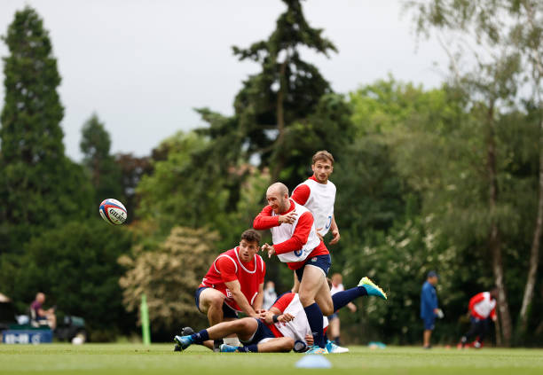 GBR: England 'A' Training Session