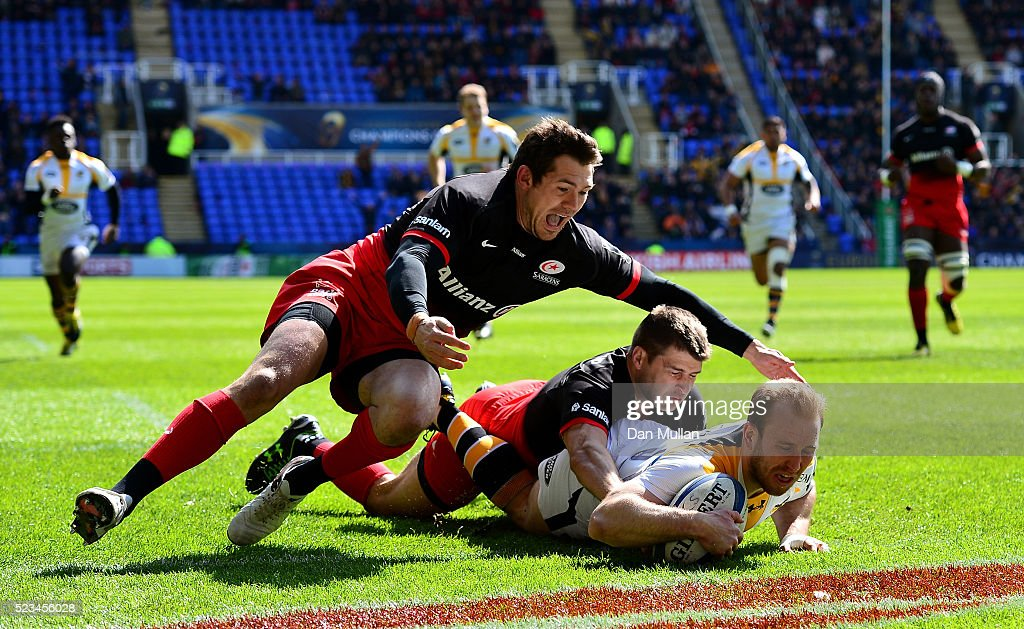 Saracens v Wasps - European Rugby Champions Cup Semi Final : News Photo