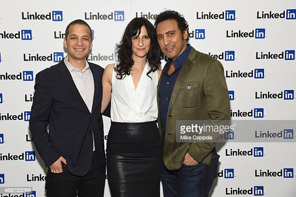 Dan Roth LinkedIn Executive Editor Lillian LaSalle and Aasif Mandvi attend LinkedIn Discussion Series Executive Editor Dan Roth Interviews The Daily...