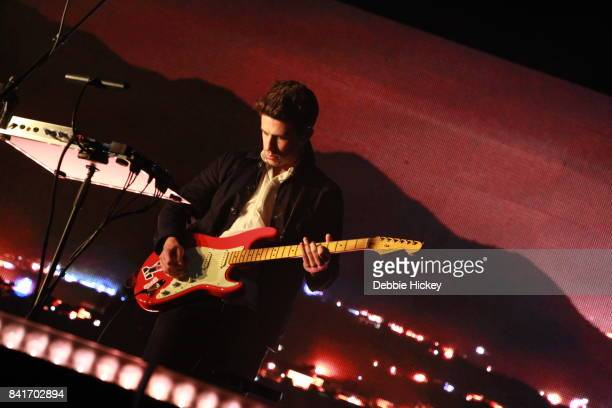 Dan Rothman of London Grammar performs at Electric Picnic Festival at Stradbally Hall Estate on September 1 2017 in Laois Ireland