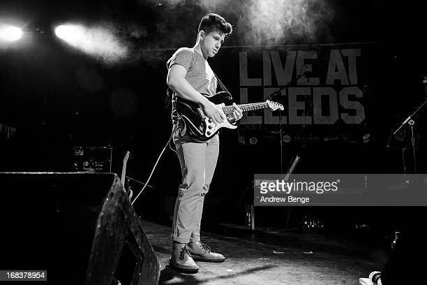 Dan Rothman of London Grammar performs on stage as part of Live At Leeds Festival on May 4 2013 in Leeds England