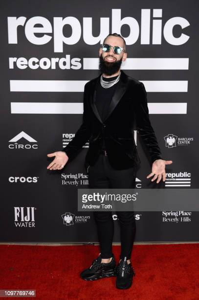 Dan Rue attends Republic Records Grammy after party at Spring Place Beverly Hills on February 10 2019 in Beverly Hills California