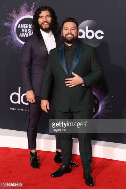 Dan Shay attend the 2019 American Music Awards at Microsoft Theater on November 24 2019 in Los Angeles California