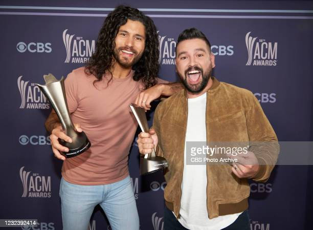 Dan + Shay win Duo of The Year at the 56TH ACADEMY OF COUNTRY MUSIC AWARDS™. Hosted by Keith Urban and Mickey Guyton, the 56TH ACM AWARDS will be...