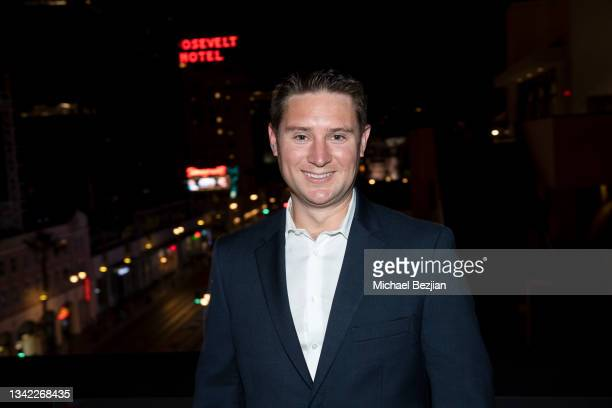 Dan Sheldon arrives at 17th Annual Oscar-Qualifying HollyShorts Film Festival Opening Night at Japan House Los Angeles on September 23, 2021 in Los...