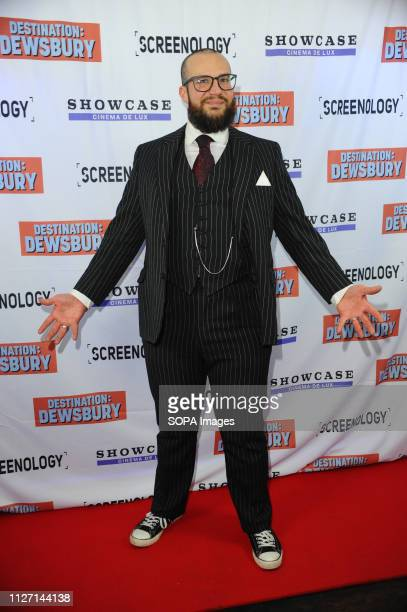 Dan Shelton seen during the Destination Dewsbury UK premiere A premiere of a new British comedy about five friends who reunite for one last road trip...