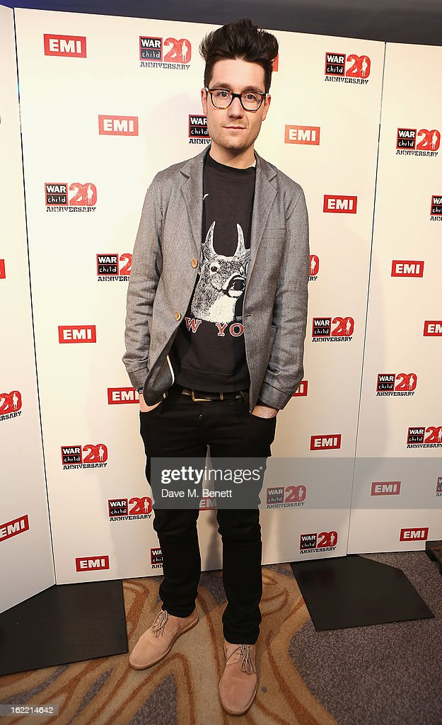 Dan Smith attends the EMI & War Child Brits Aftershow Party at 02 Arena on February 20, 2013 in London, England.