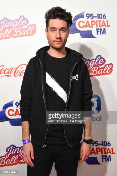 Dan Smith during day one of Capital's Jingle Bell Ball with CocaCola at London's O2 Arena