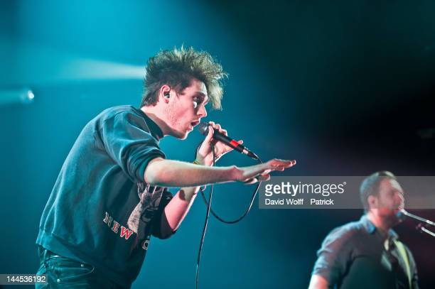 Dan Smith from Bastille opens for Keane at Le Casino de Paris on May 15 2012 in Paris France