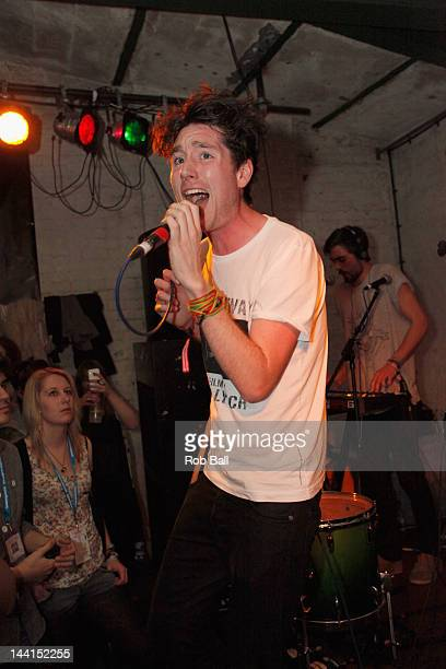 Dan Smith from Bastille performs at The Green Door during The Great Escape Festival on May 10 2012 in Brighton England