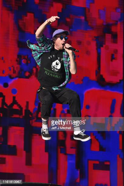 Dan Smith from Bastille performson the main stage during the TRNSMT Festival at Glasgow Green on July 13 2019 in Glasgow Scotland Tens of thousands...