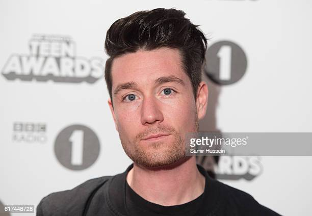 Dan Smith of Bastille attends BBC Radio 1's Teen Awards at SSE Arena Wembley on October 23 2016 in London England