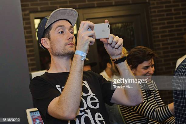 Dan Smith of Bastille attends NYLON Nights Chicago at The Virgin Hotel on July 28 2016 in Chicago Illinois