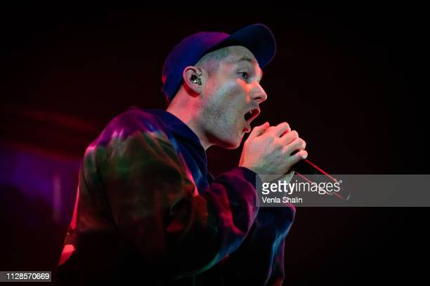 Dan Smith of Bastille performs at O2 Academy Brixton on February 9 2019 in London England