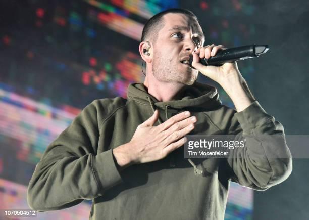 Dan Smith of Bastille performs during ALT 1053's Not So Silent Night 2018 at SAP Center on December 8 2018 in San Jose California