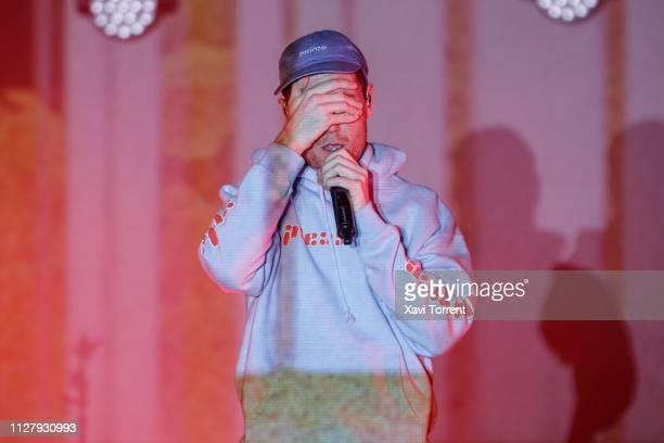 Dan Smith of Bastille performs in concert at Razzmatazz on February 27 2019 in Barcelona Spain