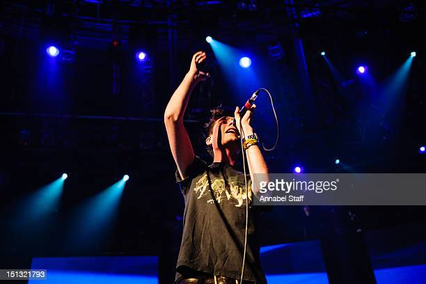 Dan Smith of Bastille performs on stage during iTunes Festival at The Roundhouse on September 5 2012 in London United Kingdom