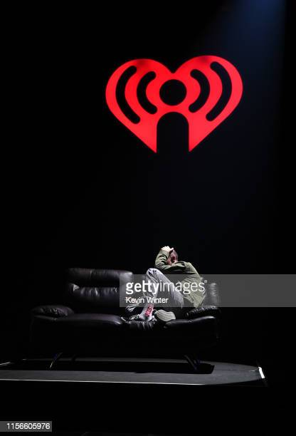 Dan Smith of Bastille performs onstage at iHeartRadio Theater on June 17 2019 in Burbank California