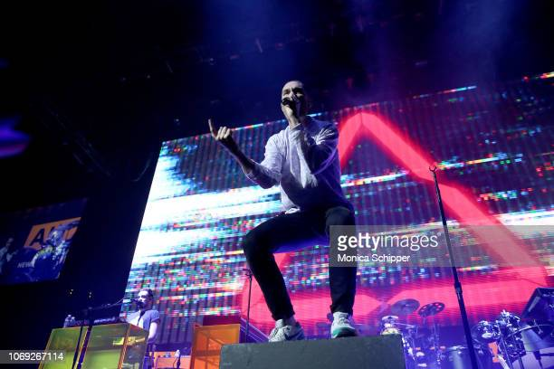 Dan Smith of Bastille performs onstage at Not So Silent Night presented by Radiocom at Barclays Center on December 6 2018 in New York City