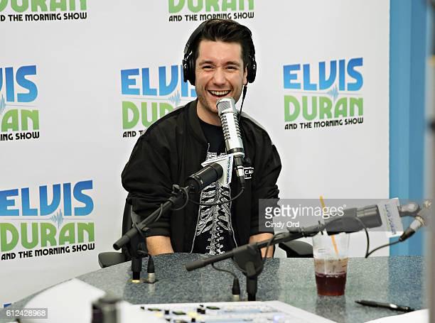 Dan Smith of Bastille visits 'The Elvis Duran Z100 Morning Show' at Z100 Studio on October 4 2016 in New York City