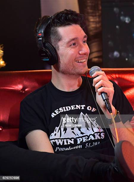 Dan Smith of the band Bastille attends 1067 KROQ Almost Acoustic Christmas 2016 Night 2 at The Forum on December 11 2016 in Inglewood California