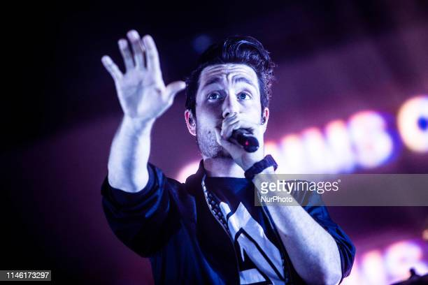 Dan Smith of the British indie pop Bastille performs live at Mediolanum Forum for the Wild World tour As of November 2014 Bastille have sold over 5...