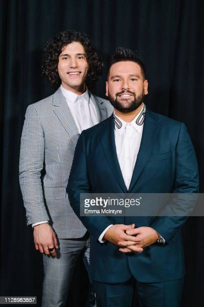 Dan Smyers and Shay Mooney of Dan and Shay attend the 61st annual GRAMMY Awards Premiere Ceremony at Microsoft Theater on February 10 2019 in Los...