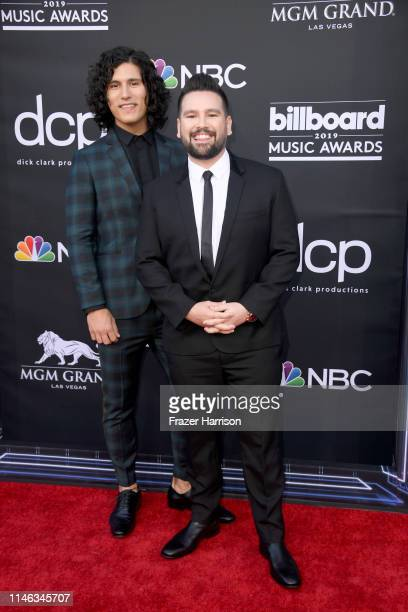 Dan Smyers and Shay Mooney of Dan Shay attend the 2019 Billboard Music Awards at MGM Grand Garden Arena on May 01 2019 in Las Vegas Nevada