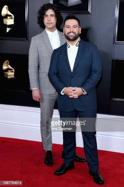 Dan Smyers and Shay Mooney of Dan Shay attend the 61st Annual GRAMMY Awards at Staples Center on February 10 2019 in Los Angeles California