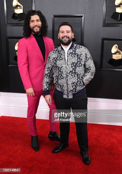 Dan Smyers and Shay Mooney of Dan Shay attend the 62nd Annual GRAMMY Awards at Staples Center on January 26 2020 in Los Angeles California