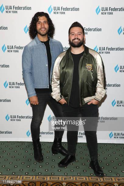 Dan Smyers and Shay Mooney of Dan Shay attend the UJAFederation of New York 2019 Music Visionaries of the Year at The Pierre Hotel on June 11 2019 in...