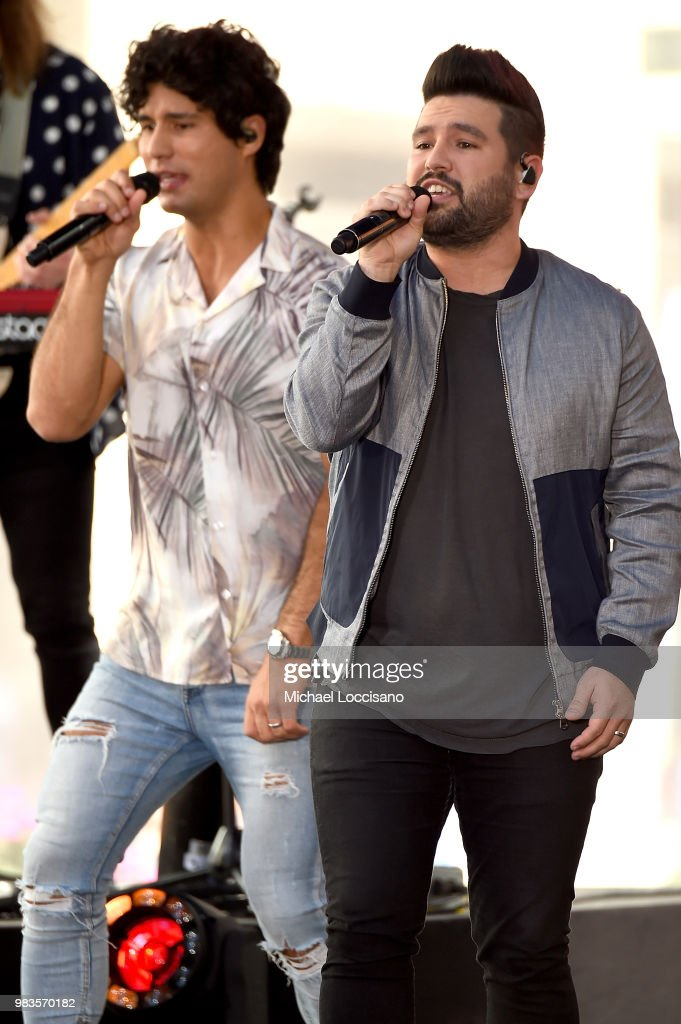 "Dan + Shay Perform On NBC's ""Today"""