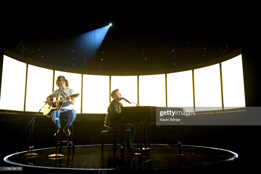 61st Annual GRAMMY Awards - Rehearsals Day 1 : News Photo
