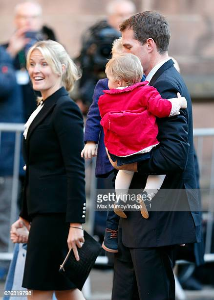 Dan Snow attend a Memorial Service for Gerald Grosvenor 6th Duke of Westminster at Chester Cathedral on November 28 2016 in Chester England Gerald...