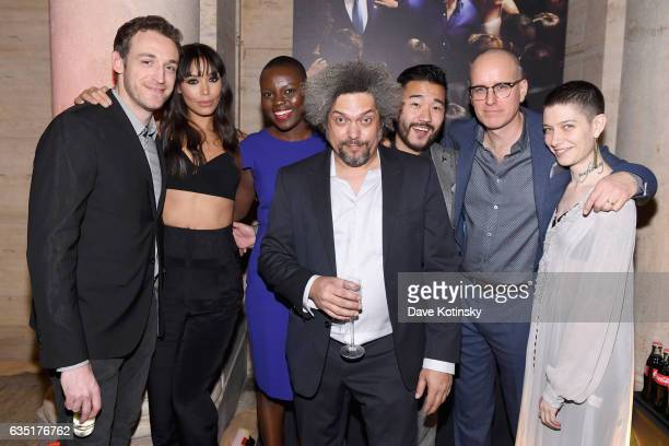 Dan Soder Ilfenesh Hadera Shaunette Renee Wilson Malachi Weir Daniel K Isaac Kelly AuCoin and Asia Kate Dillon attend the Showtime and Elit Vodka...