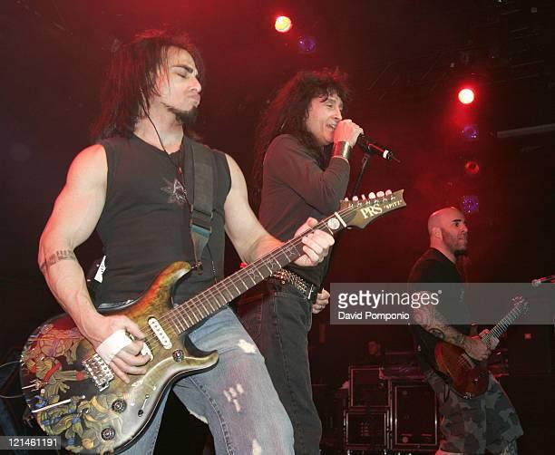 Dan Spitz, Joey Belladonna and Scott Ian of Anthrax