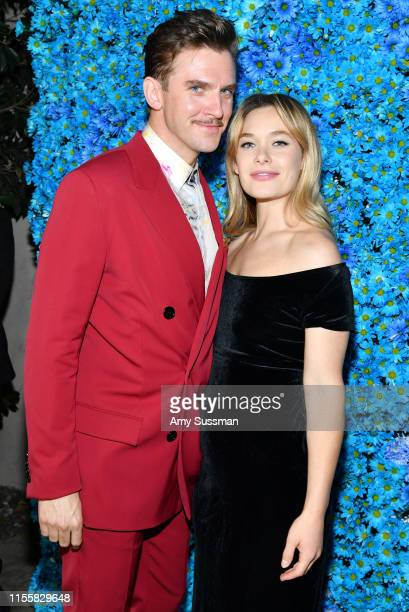 Dan Stevens and Rachel Keller attend the LA premiere of FX's Legion Season 3 after party on June 13 2019 in Hollywood California