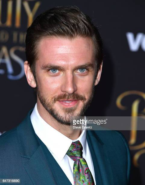 Dan Stevens arrives a the Premiere Of Disney's Beauty And The Beast at El Capitan Theatre on March 2 2017 in Los Angeles California