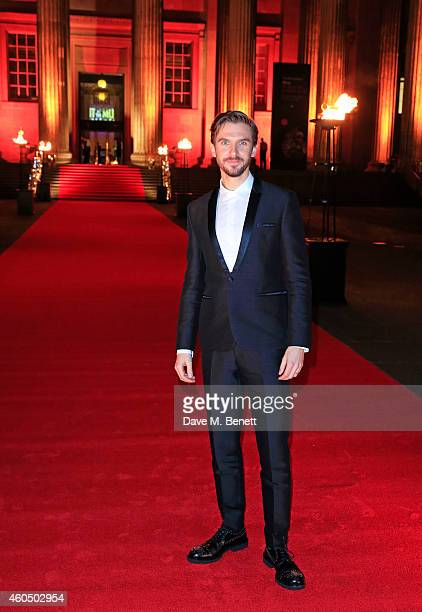 Dan Stevens attends a photocall celebrating the UK Premiere of 'Night At The Museum Secret Of The Tomb' at The British Museum on December 15 2014 in...