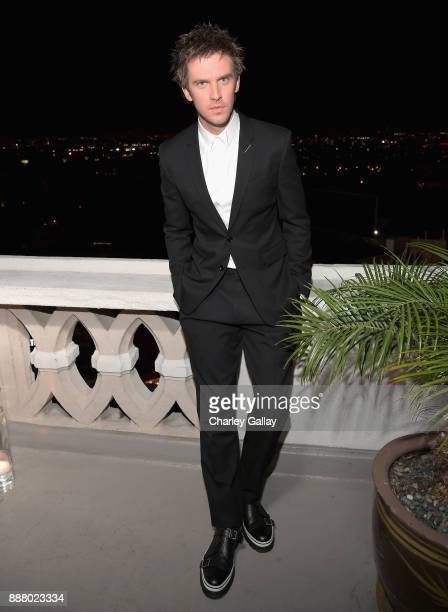Dan Stevens attends GQ and Dior Homme private dinner in celebration of The 2017 GQ Men Of The Year Party at Chateau Marmont on December 7 2017 in Los...