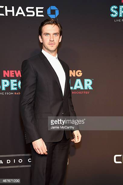 Dan Stevens attends the 2015 New York Spring Spectacular at Radio City Music Hall on March 26 2015 in New York City