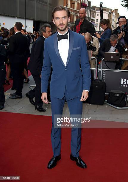 Dan Stevens attends the GQ Men of the Year awards at The Royal Opera House on September 2 2014 in London England